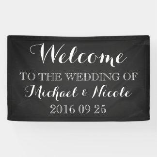 Personalizado rústico del signo positivo del boda