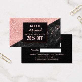 Personalizado subió tarjeta del salón de belleza
