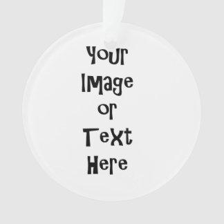 Personalizar con las imágenes y el texto adorno