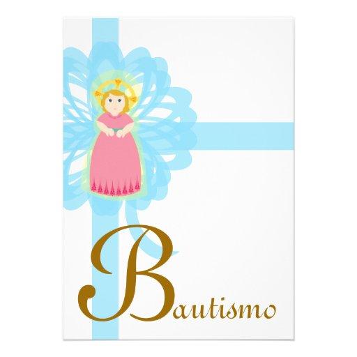 """Personalizar de """"Bautismo"""" - Invitaciones Personalizada"""