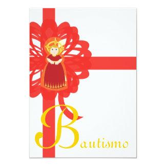 """Personalizar de """"Bautismo"""" - Invitación 12,7 X 17,8 Cm"""
