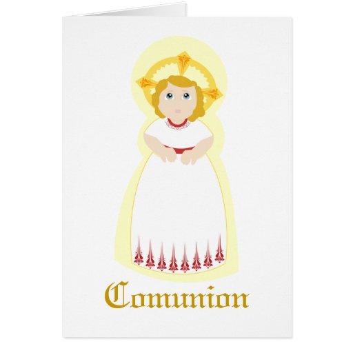 """Personalizar de """"Comunion"""" - Felicitacion"""