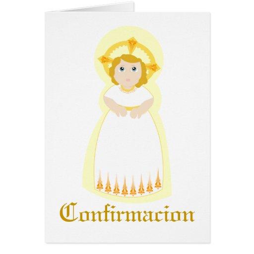 """Personalizar de """"Confirmacion"""" - Tarjetas"""