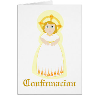 """Personalizar de """"Confirmacion"""" - Tarjeta De Felicitación"""