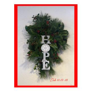 Personalizar de la postal de la esperanza del