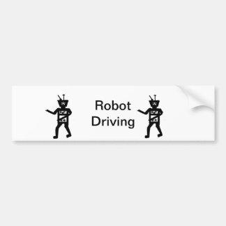 Personalizar de las tarjetas del robot pegatina para coche