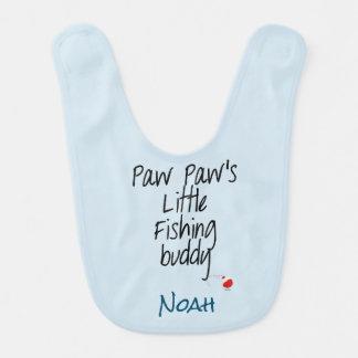 Personalizar del babero del bebé del compinche de