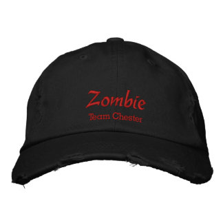 Personalizar del casquillo/del gorra del zombi con gorra bordada