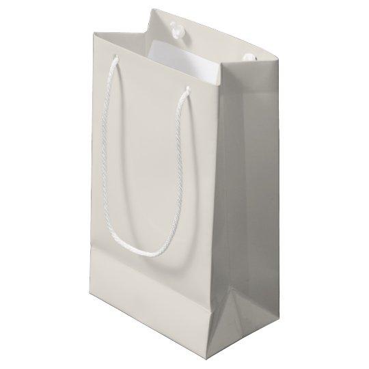 Personalizar del color sólido del alabastro él bolsa de regalo pequeña