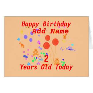 Personalizar joven de la tarjeta de cumpleaños de