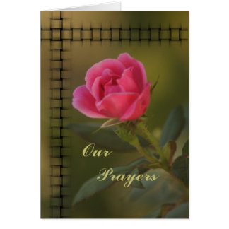 Personalizar Knockout rosado de la tarjeta del