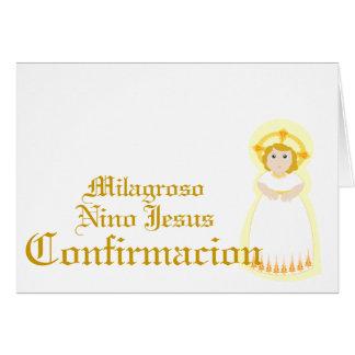 """Personalizar milagroso de """"Confirmacion"""" - Felicitaciones"""