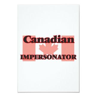 Personificador canadiense invitación 8,9 x 12,7 cm