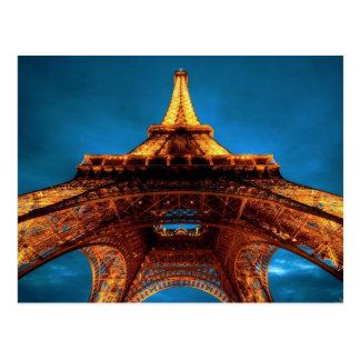 Perspectiva de la torre Eiffel Postal