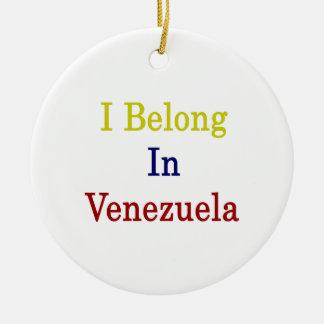 Pertenezco en Venezuela Ornamentos De Reyes Magos
