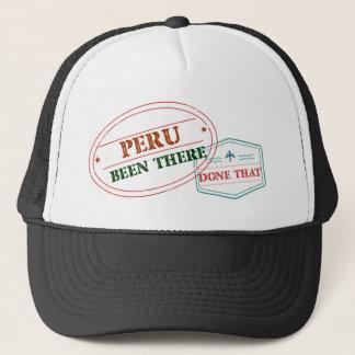 Perú allí hecho eso gorra de camionero