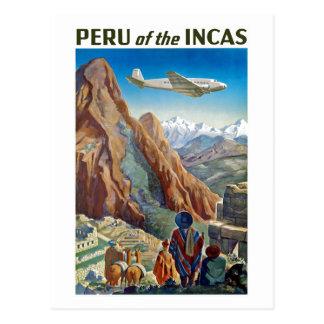 Perú de los incas postal