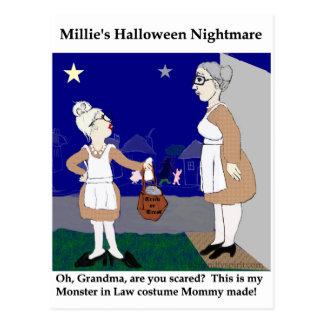 Pesadilla de Halloween de Millie Postal