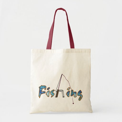 Pesca con Rod Bolsa De Mano