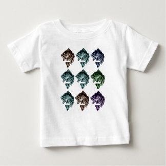 Pesca de la lubina camiseta de bebé