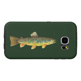 Pesca de la trucha de Brown, ictiología Funda Samsung Galaxy S6