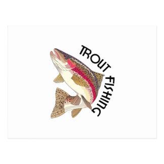 Pesca de la trucha postal