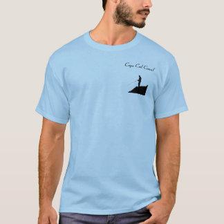 Pesca de la zanja camiseta