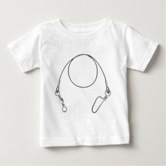 Pesca del clip art del ejemplo del vector del camiseta de bebé
