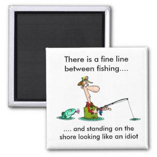 pesca del dibujo animado. imanes