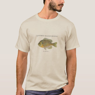 Pesca del ejemplo del Lepomis macrochirus Camiseta