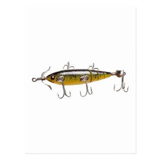Pesca del señuelo 2 postal
