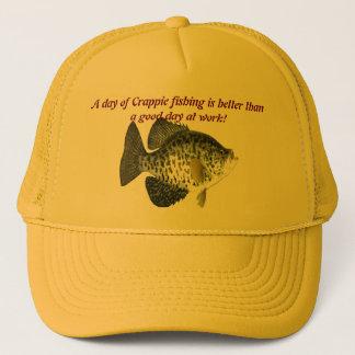 Pesca del tipo de pez gorra de camionero