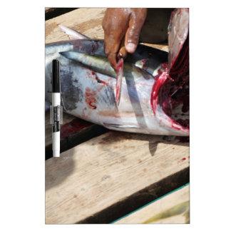 pesca deportiva pizarra blanca