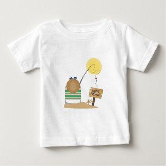 Pesca ida camiseta de bebé