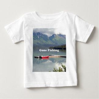 Pesca ida: Lago trail, Alaska Camiseta De Bebé
