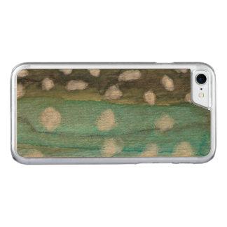 Pescador de la trucha funda para iPhone 8/7 de carved