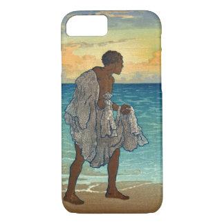 Pescador hawaiano 1920 funda para iPhone 8/7