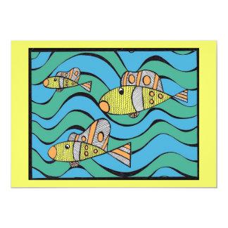 Pescadores de hombres invitación 12,7 x 17,8 cm