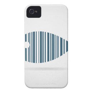 Pescados abstractos carcasa para iPhone 4