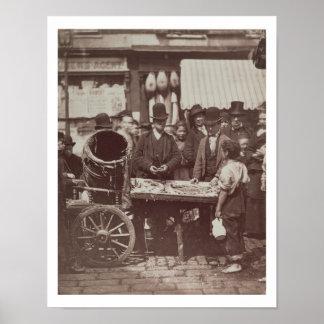 Pescados baratos de St Giles, a partir de la 'vida Póster