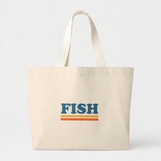 pescados bolsa tela grande