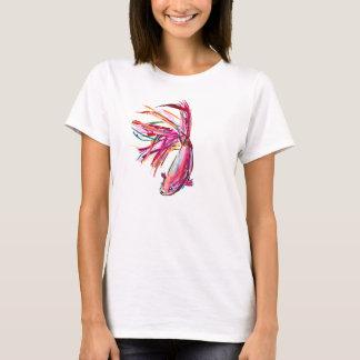 Pescados coloridos de Betta - camiseta