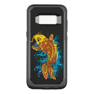 Pescados coloridos de Koi Funda Otterbox Commuter Para Samsung Galaxy S8