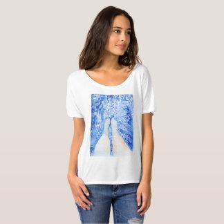 Pescados con las ondulaciones camiseta