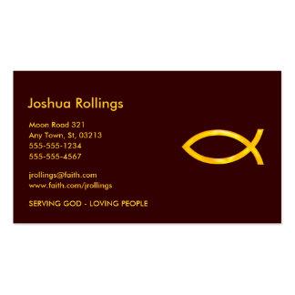 Pescados cristianos el | tarjetas de visita
