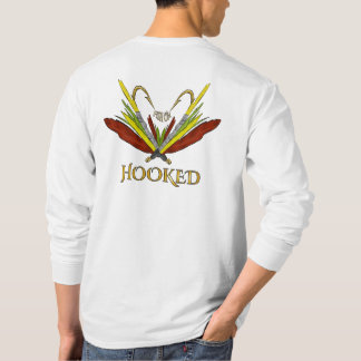 PESCADOS de la camisa de la pesca con mosca