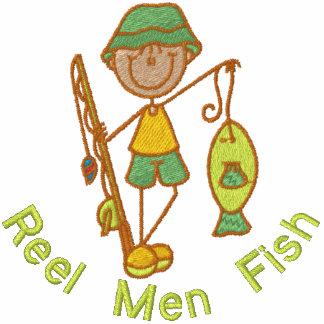 Pescados de los hombres del carrete