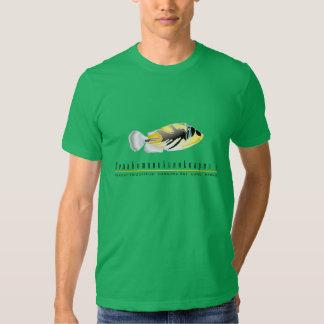 Pescados del disparador de Hawaii - Camisetas