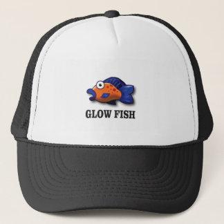 pescados del resplandor gorra de camionero