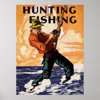 Pescados encendido póster